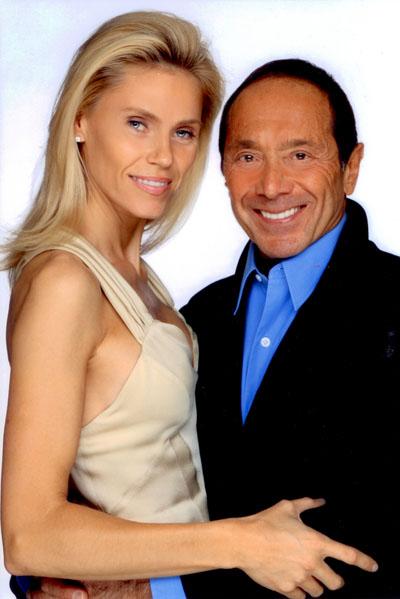 Anna och Paul Anka